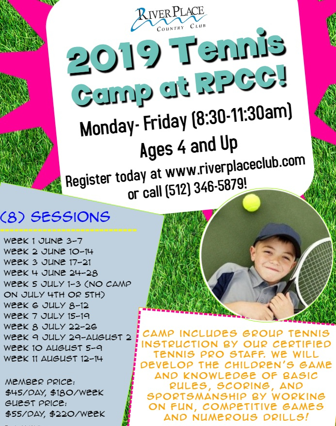River Place Country Club Summer Camps