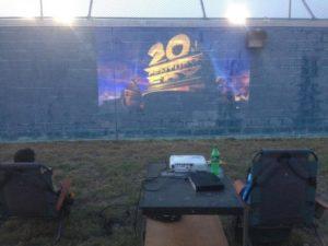 Movie on the Backboard @ Austin Tennis and Pickleball Center | Austin | Texas | United States