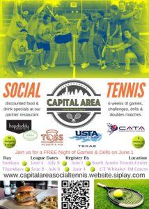 Social Tennis @ South Austin Tennis Center   Austin   Texas   United States