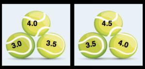 Fall Tri-Level Doubles League @ various