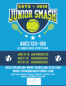DEADLINE: SBTA Junior Smash @ Jumbo Evans Sports Park
