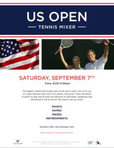 DEADLINE US Open Mixer Cimarron Hills @ Cimarron Hills Country Club